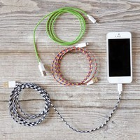 Fabric-Wrapped Charging Cable