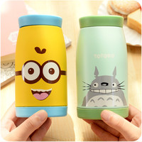 Thermos Mug Insulated Tumbler Travel Cups Stainless Steel Thermo Vacuum Cup Flasks for Office Cartoon Animal Pattern