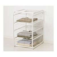 ALGOT Frame with 4 wire baskets - IKEA