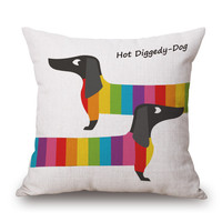 Dachshund Custom Cushion Cover