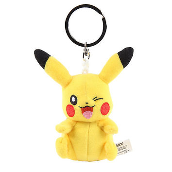 Pokemon Pikachu Plush Key Chain