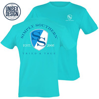 Simply Southern Ivy SS Logo Pool Unisex Design T-Shirt