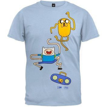 PEAPGQ9 Adventure Time - Dance Dance T-Shirt