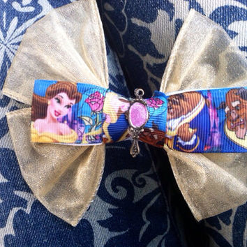 Beauty and The Beast Enchanted Mirror Bow