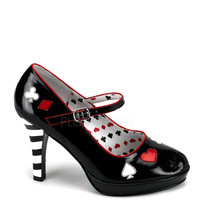 Funtasma Contessa-57 Queen of Hearts Pumps
