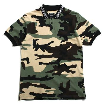 Sharps Polo New Woodland Camo