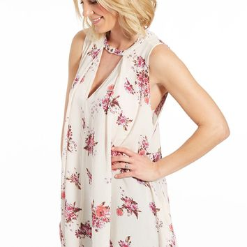 Sleeveless Tree Swing Tunic by FREE PEOPLE