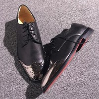 Cl Christian Louboutin Loafer Style #2386 Sneakers Fashion Shoes - Best Online Sale