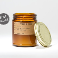 Amber & Moss 7.5 oz Soy Candle