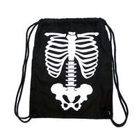 Skeleton Drawstring Backpack (LAST ONE)