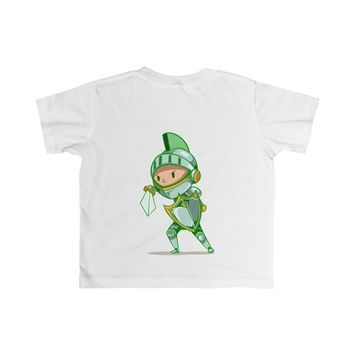'Knight Boy Biliary Atresia Awareness' Cotton Tee