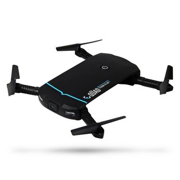 RC102 Selfie Drone Dron WiFi FPV 0.3MP HD Camera Foldable Helicopter Folding RC Pocket Drones G-Sensor Mode Waypoints Quadcopter