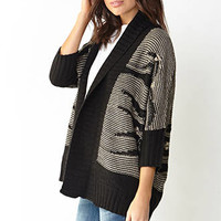 LOVE 21 Oversized Textured Knit Cardigan