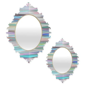 DENY Designs Mareike Boehmer Nordic Combination Baroque Mirror