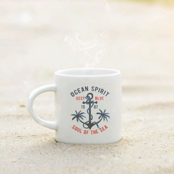 Nautical Anchor Coffee Cup