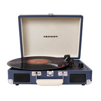 Crosley Cruiser Blue Portable Turntable CR8005A-BL