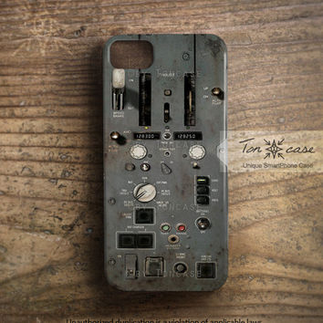 Steampunk iPhone 5 case, steampunk iPhone 4 case, iPhone 4s case, High quality 3D printing, men, dirty rust lever machine gear (c63)