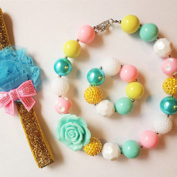 Bubblegum Jewels - Everyone Loves these accessories - Only from Kids Dress Club