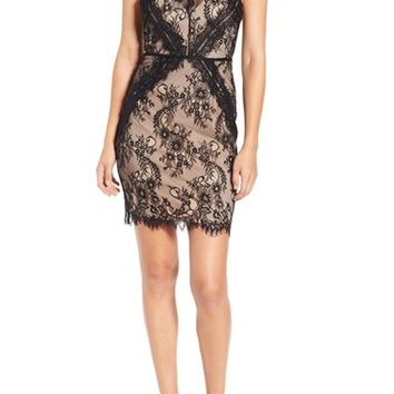ASTR Lace Body-Con Dress | Nordstrom