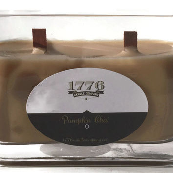 1776 Candle Company- Soy Scented Candle Pumpkin Chai 20oz