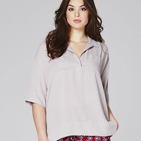 Dipped Side Utility Blouse | SimplyBe US Site