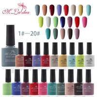 M.Ladea 140 Color Gel Nail Polish 8.3ML Soak Off Enamel Gel Polish Nail Art LED UV Gel Nail Polishes Gel Lacquer