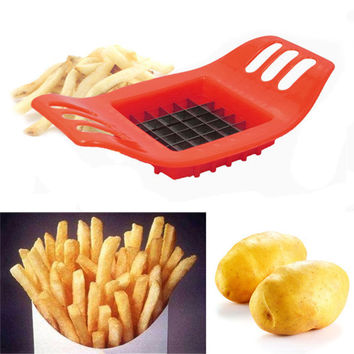 Cutter julienne Kitchen Fry Potato Slicer Fruit Chip Chopper Vegetable Gadget