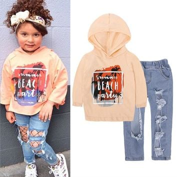 LZH Children Clothes 2018 Autumn Winter Girls Clothes T-shirt+Pants Outfits Kids Clothes Tracksuit Suit For Girls Clothing Sets