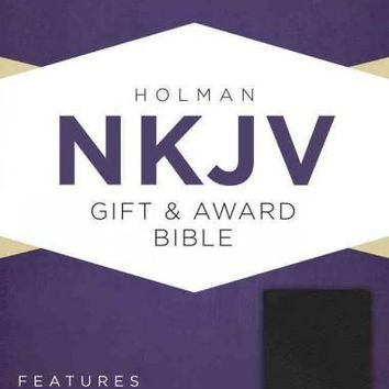 The Holy Bible: New King James Version, Black, Imitation Leather, Gift & Award Bible
