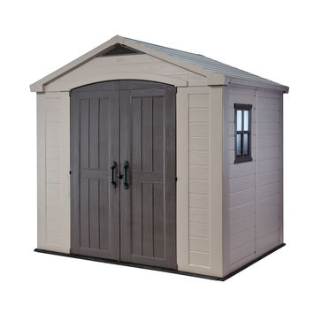 Factor 8-ft x 6-ft Storage Shed