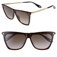 Givenchy 58mm Flat Top Sunglasses | Nordstrom