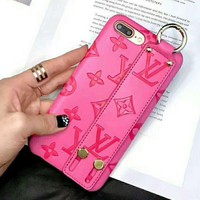 LV alphabet print iPhone Phone Cover Case For iphone 6 6plus 7 7plus H-AGG-CZDL
