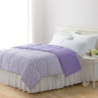 Home Classics Dot Down-Alternative Reversible Comforter - Full/Queen