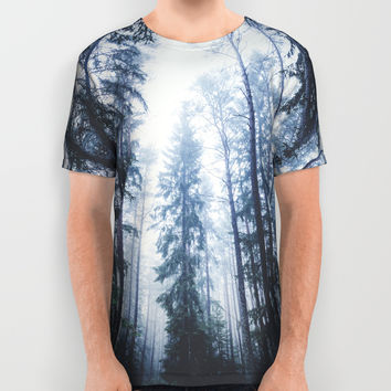 The mighty pines All Over Print Shirt by happymelvin