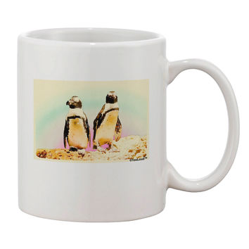 Magellanic Penguin Watercolor Printed 11oz Coffee Mug