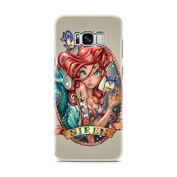 Ariel Little Mermaid Tattoo Samsung Galaxy S8 | Galaxy S8 Plus Case