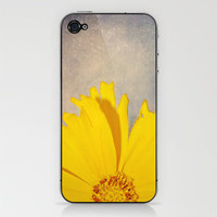 Yellow iPhone & iPod Skin by Rachel Burbee | Society6