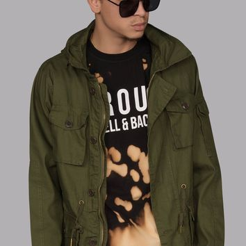 Military Field Jacket (Army Green)