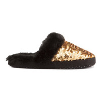 H&M Sequined Slippers $9.99