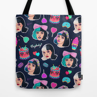 Cry Baby Tote Bag by Helen Green