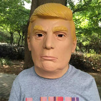 High Quality 1 PC New Donald Trump Halloween Mask