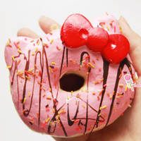 Rare Jumbo Hello Kitty Donut Squishy Charm