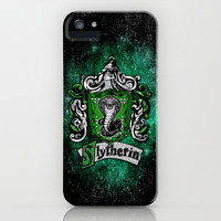 Harry potter Slytherin team flag apple iPhone 3, 4 4s, 5 5s 5c, iPod & samsung galaxy s4 case cover