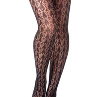 Peacock Feather Tights