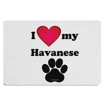 I Heart My Havanese Placemat by TooLoud
