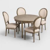 Round Wood Paige Dining Collection