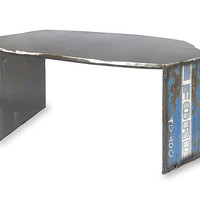 Ford 4000 Coffee Table  by Ben Gatski: Metal Coffee Table - Artful Home