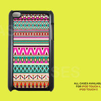 Ipod Touch 4 Case - Aztec Tribal Native Apple Ipod 4G iTouch Case, 4th Gen Ipod Touch Cases, Unique Cases For 4th Generation Ipods