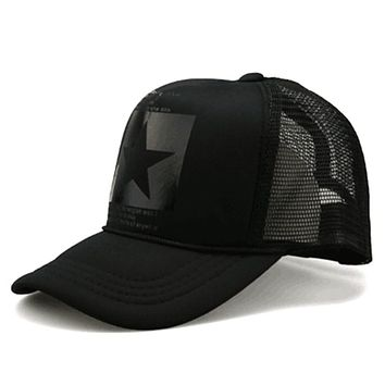 Fashion pointed Star Brand Baseball Cap