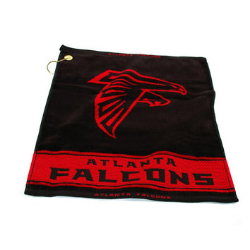 Atlanta Falcons NFL Woven Golf Towel